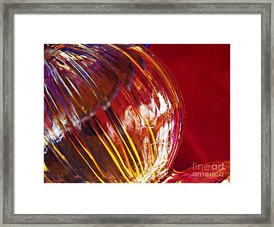 Glass Abstract 567 Framed Print