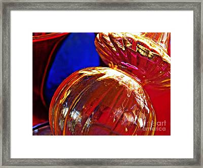 Glass Abstract 569 Framed Print