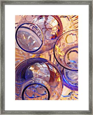 Glass Abstract 620 Framed Print