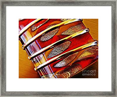 Glass Abstract 647 Framed Print