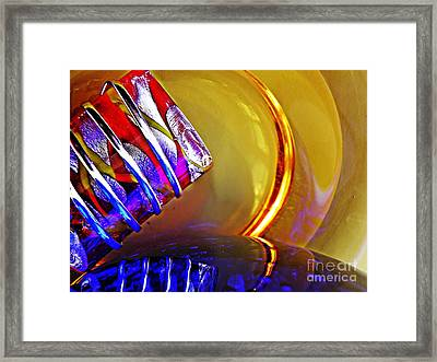 Glass Abstract 656 Framed Print