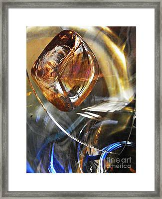Glass Abstract 710 Framed Print