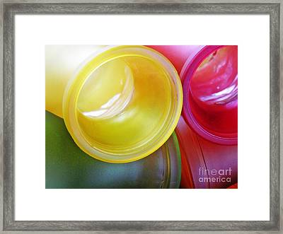 Glass Abstract 721 Framed Print