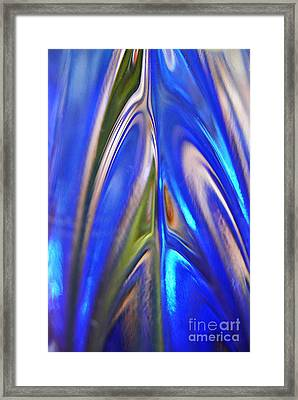 Glass Abstract 748 Framed Print