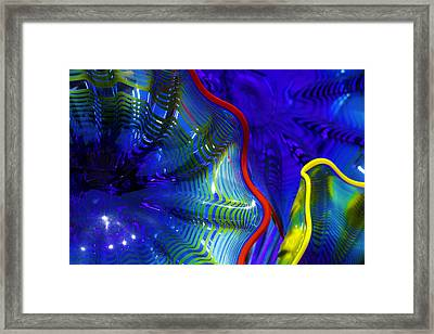Glass Abstract One Framed Print