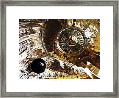 Glass Abstrct 456 Framed Print