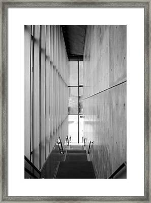 Glass And Concrete  Framed Print