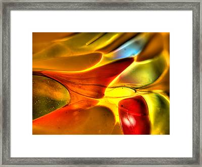 Glass And Light Framed Print
