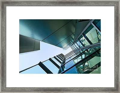 Glass And Metal - Walt Disney Concert Hall In Downtown Los Angeles Framed Print