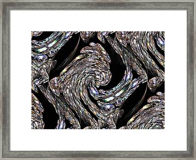 Glass Bird Framed Print by Kristin Elmquist