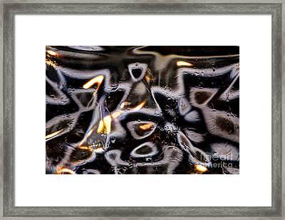 Glass Brick 11 Framed Print by Jim Wright