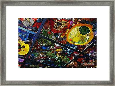Glass Ceiling Abstract Framed Print