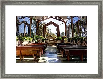 Glass Chapel Framed Print by Heidi Smith