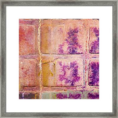 Glass Crossings 3 Framed Print by Carol Leigh