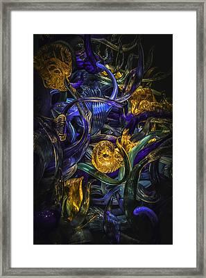 Glass Fantasy Framed Print