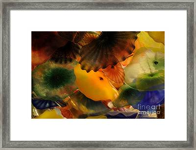 Glass Flowers Framed Print by Kathleen Struckle