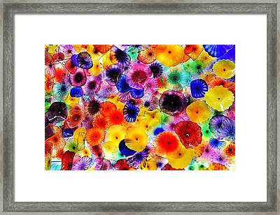 Glass Garden Framed Print