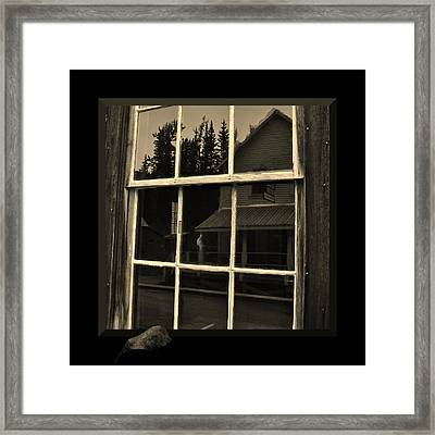 Glass Ghost Framed Print
