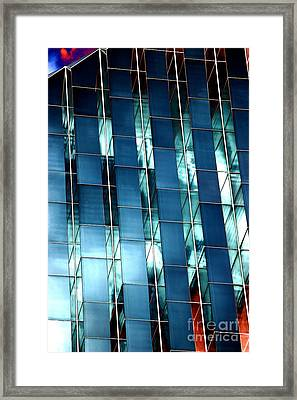 Glass House II Framed Print