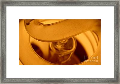 Glass Light Framed Print
