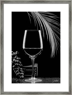 Glass Of Paradise Framed Print