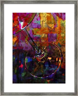 Glass Of Shiraz Framed Print