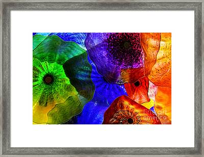 Glass Palette Framed Print