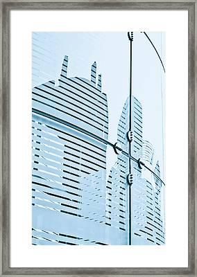 Glass Panels Framed Print