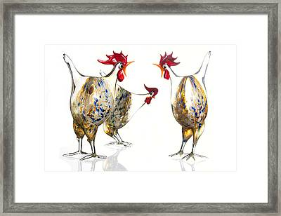 Glass Poultry Framed Print