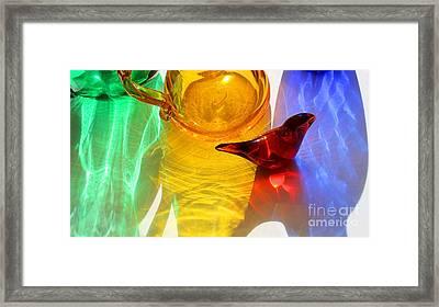 Glass Reflections #8 Framed Print