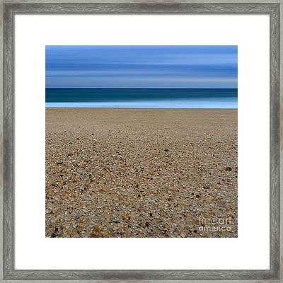 Glass Sand Framed Print by Katherine Gendreau