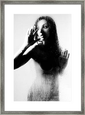 Glass Shadows Framed Print by Jt PhotoDesign