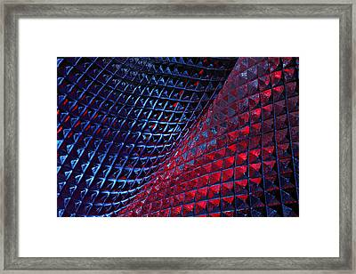 Glass Works 12 Framed Print