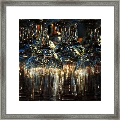 Glasses Framed Print by Hitendra SINKAR