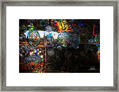 Glassy Colors Framed Print by Dan Quam