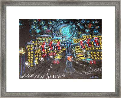 Glaucoma Starry Night Framed Print