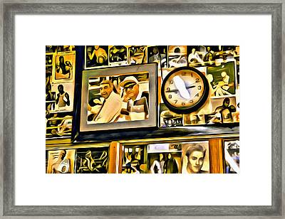 Gleasons Wall Framed Print by Alice Gipson