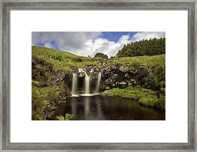 Glen Brittle Framed Print by David Pringle