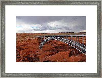 Glen Canyon Bridge Framed Print