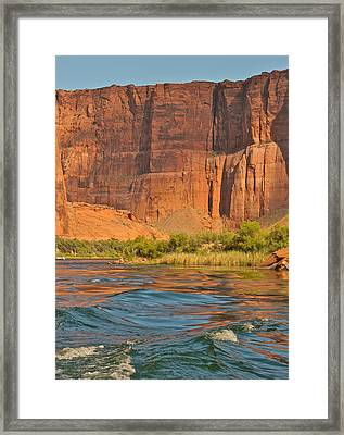 Glen Canyon  Page Az Framed Print by Gail Maloney