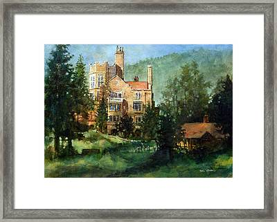 Glen Eyrie Sunrise Framed Print