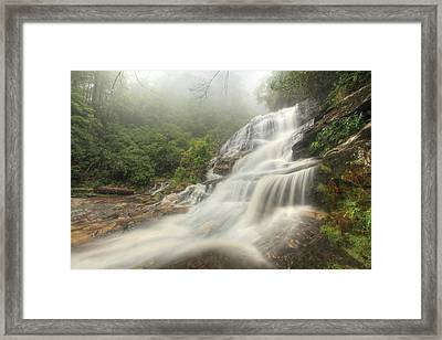 Framed Print featuring the photograph Glen Falls by Doug McPherson