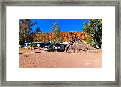 Glen Helen Gorge Resort Framed Print