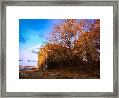 Glen Island Castle Framed Print