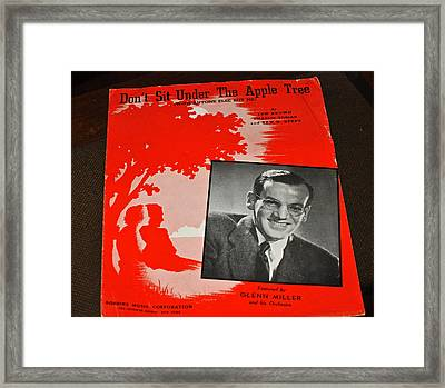 Glen Miller Big Band Framed Print by Jay Milo