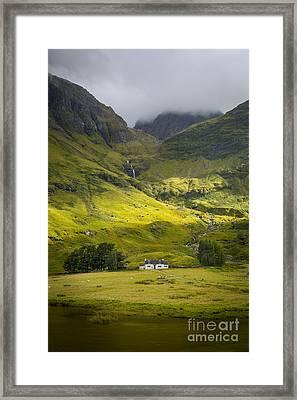 Glencoe Highlands Framed Print by Brian Jannsen