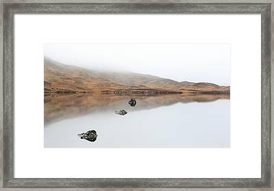 Glencoe Mist Framed Print by Grant Glendinning