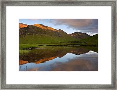 Glencoe Summer Reflections Framed Print