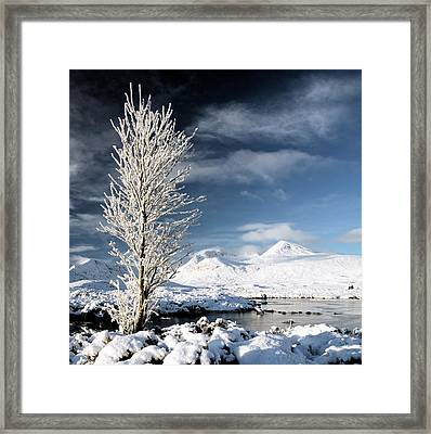 Glencoe Winter Landscape Framed Print