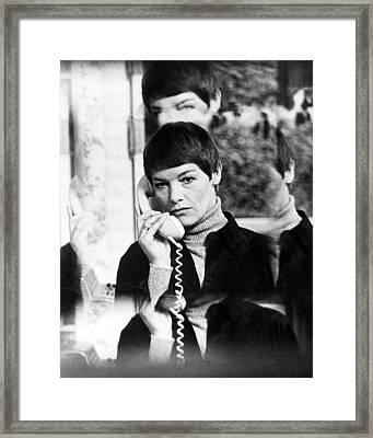 Glenda Jackson In Hopscotch  Framed Print by Silver Screen
